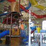 Indoor water park