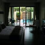 Zimmer mit eigenem Pool