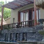 View of the bedroom & bedroom terrace