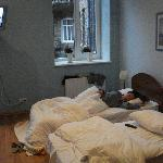 Our cozy room - good to sleep in winter time