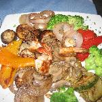 Coconut Palms Restaurant Fresh Vegetable Platter