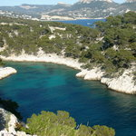 View of Calanque de Point-Pin