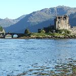 Eilean Donan Castle; not so far from Fort William.