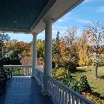 Upstairs front porch