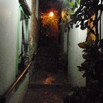 Pasillo de noche