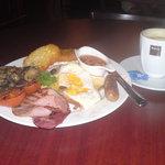 Big Breakfast before