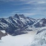On top of Jungfrau Mountain