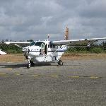 the plane that flew us to the mara
