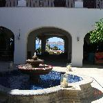 Casa Del Mar Courtyard/Reception area