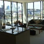 Docklands Prestige Apartments - huge corner balcony