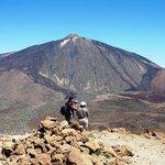 Teide from the summit of Guajara