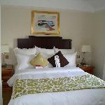 Bedroom in cottage suite