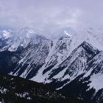The canadian rockies in Golden, B.C.