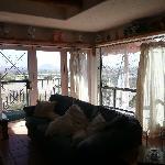 Beautiful large glass windows for enjoying the VIEW