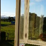 View from the bedroom window - Ardross House