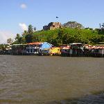 El Castillo Nicaragua from a River Boat