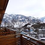 Blick vom Balkon ins Kapruner Tal