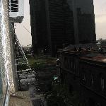 Vista de Puerto madero,  desde la habitación