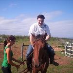 Das erste mal aufm Pferd