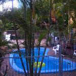 tiny swimming pool