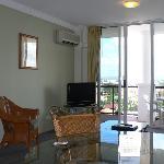 Apartment #1012 living area