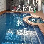 Indoor heated pool, spa & gym