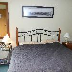 Our room in the B & B