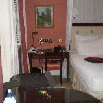 Desk near to bed - Room 609