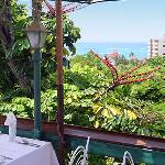 Evita's in Ocho Rios - The outside deck