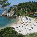 Hotel's beach Piso Krioneri