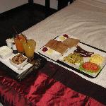 breakfast served in room