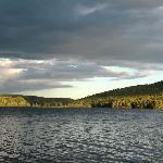 Pitcher Pond at sunset
