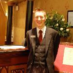 Ben, our favorite concierge.