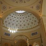Inside the National Basilica