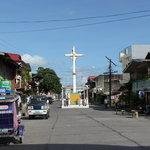 Dipolog Cross - Rizal Avenue, near the Seawall/Boulevard