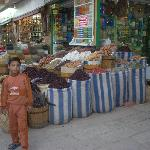 A spice stall in the Souk