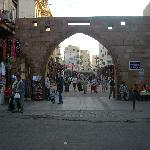 The arch over the Sharia al-Souk is an Aswan landmark