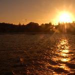 KI sunset