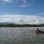 Radeau sur la rivière Napo