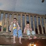 Our kids loved their own space in the upstairs loft