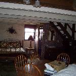 first floor of the chetlain cabin