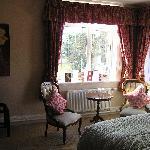 Room overlooking garden