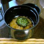 ウェルカム味噌汁(笑)