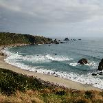 great coastal hike not far from lodge