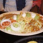 chilangas - eggs with nachos