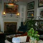 Inside Lobby/waiting area of Cashtown Inn