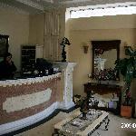 Hotel Eugenia front desk
