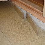 loose floor tiles