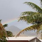 Rainbow after a morning rainshower