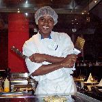 Shawn-our cook at the Japanese restaurant